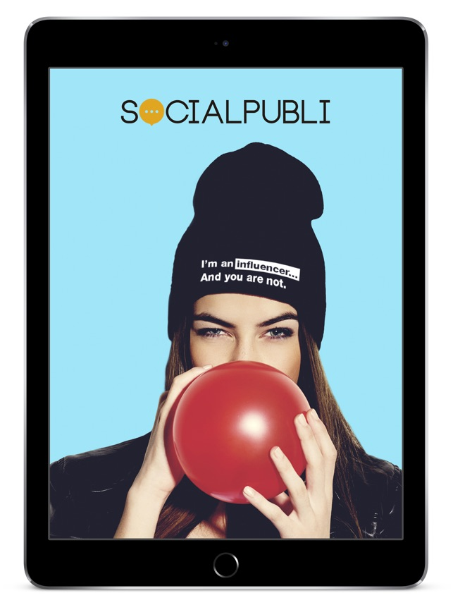 Socialpubli.com Influencers Screenshot