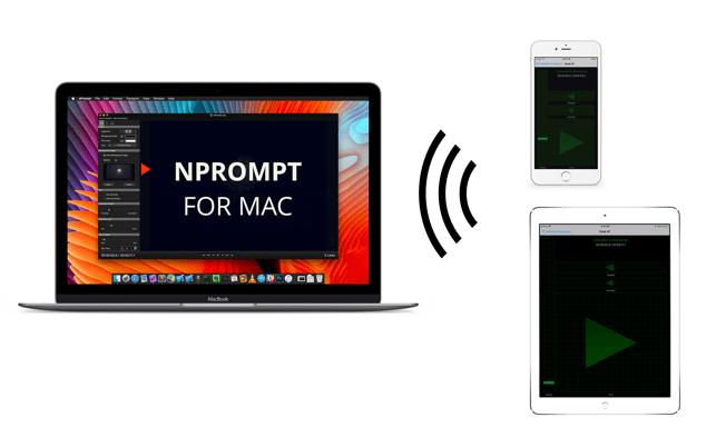 nPrompt - Teleprompter Screenshot