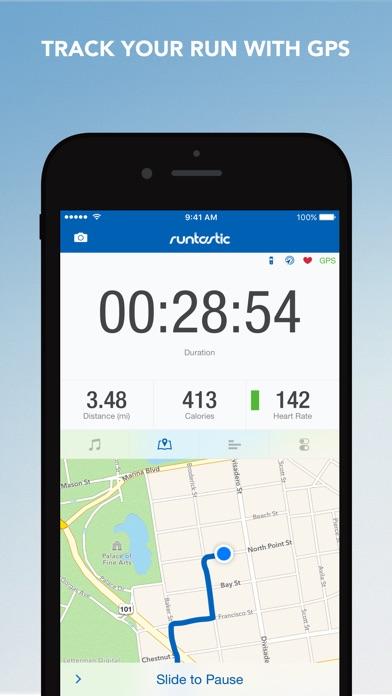 Runtastic Running Tracker PRO Screenshot