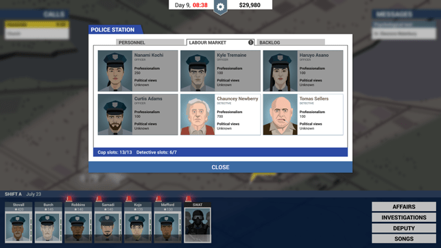 This is the Police Screenshot