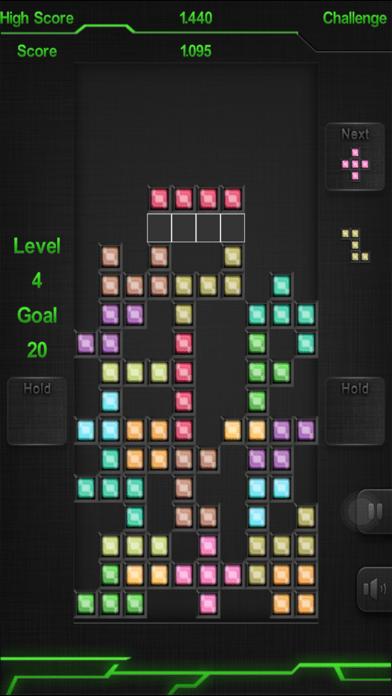Block classic puzzle game : Brick Blocks iRon 2.1 IOS