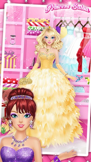 Princess Salon™ - Girls Makeup, Dressup and Makeover Games Screenshot