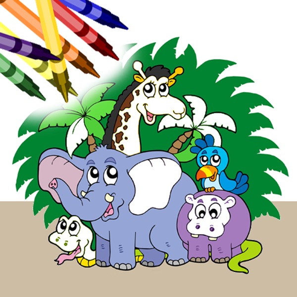 Coloring Book Free - Animals