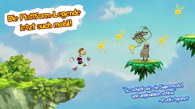 Rayman Jungle Run Screenshot
