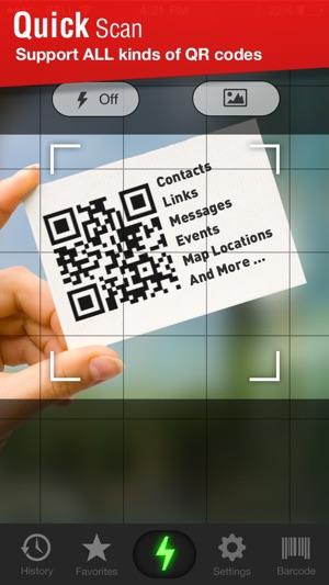 Quick Scan - QR Code Reader Screenshot