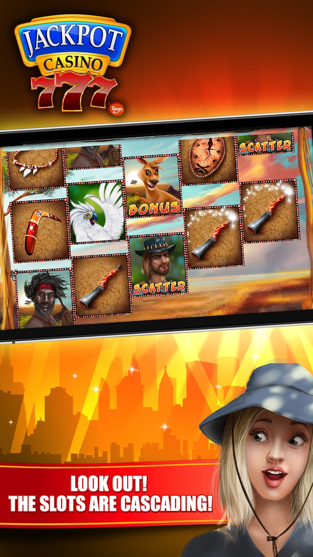 Jackpot Casino - slot machines 2.05 IOS