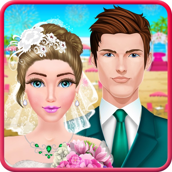 Seaside Wedding Party Makeover & Dress up Salon Girls Game