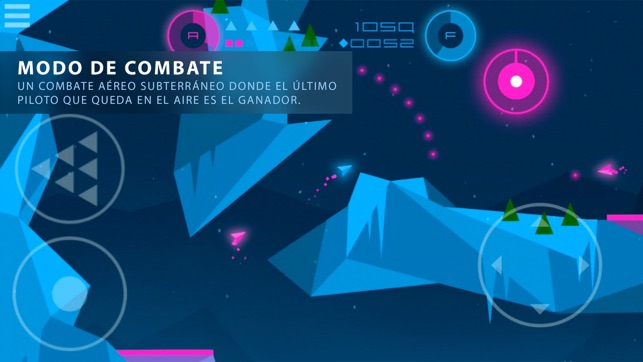 Heavy Rockets - juego de acción en cuevas Screenshot