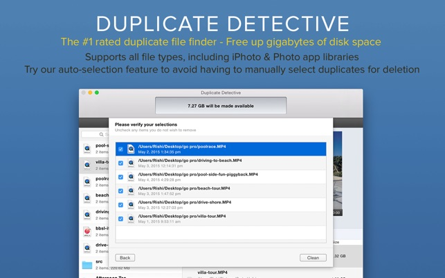 Duplicate Detective: Find & Delete Duplicate Files Screenshot