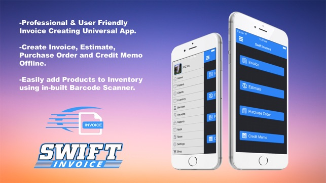 Swift Invoice Free on the App Store  Swift Invoice Free on the App Store