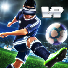 ‎Final Kick VR - Virtual Reality free soccer game for Google Cardboard