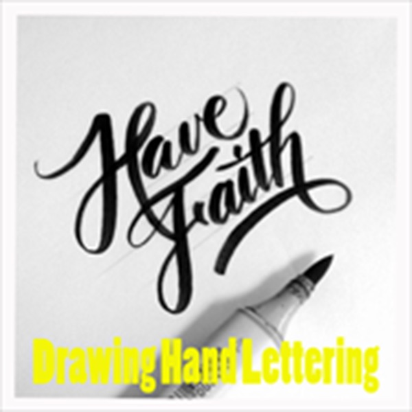 Hand Lettering Drawing