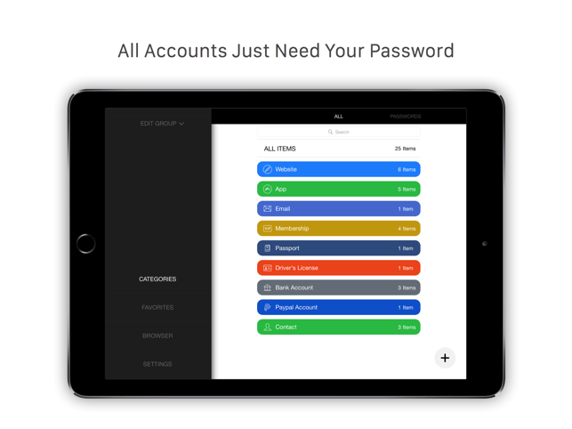 Tiny Password - Secure Password Manager Screenshot