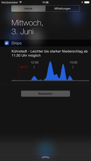 Drops - Der Regenalarm Screenshot