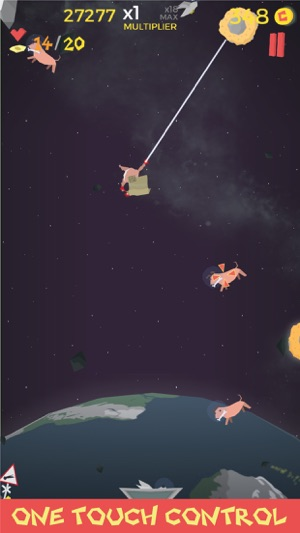 Waste in Space - Endless Arcade Shooter Screenshot