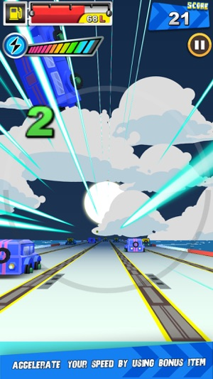 ‎Racing Rush Screenshot