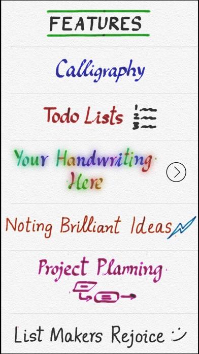 Handschrift GOLD Screenshot