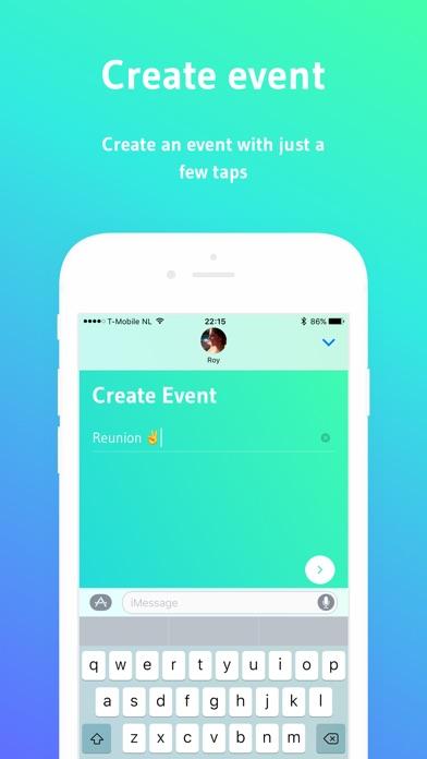 I'm In - Event planner Screenshot