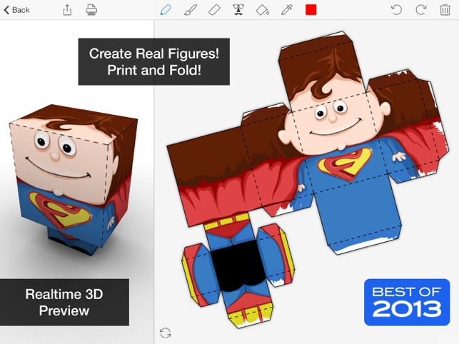 Foldify - Create, Print, Fold! Screenshot