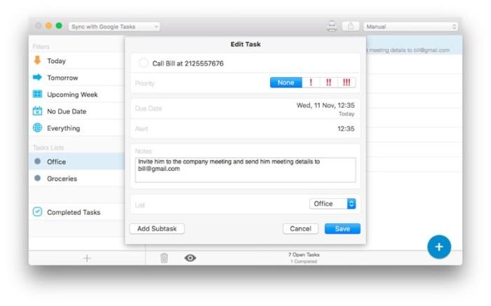 gTasks Pro - Tasks for Google Screenshot 03 57v4aun