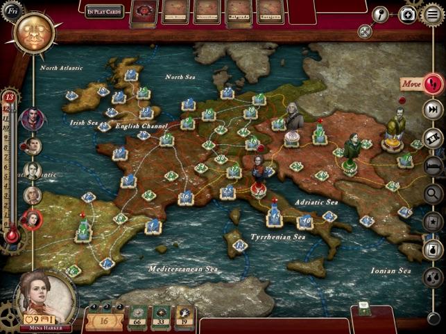 Fury of Dracula Screenshot