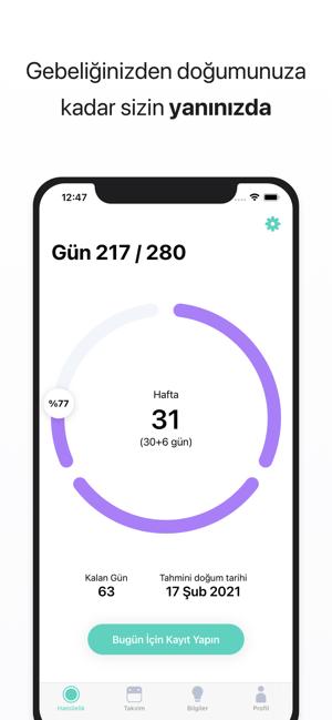 Regl Takip Uygulaması - Cycles Screenshot