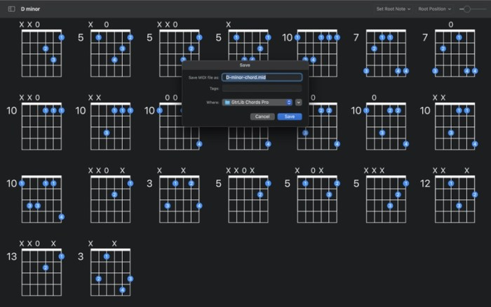 GtrLib Chords Pro Screenshot 04 13at2wn