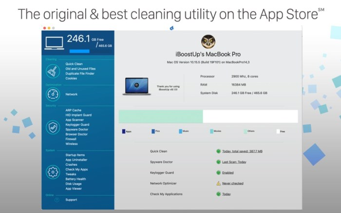 iBoostUp Screenshot 02 cf188mn