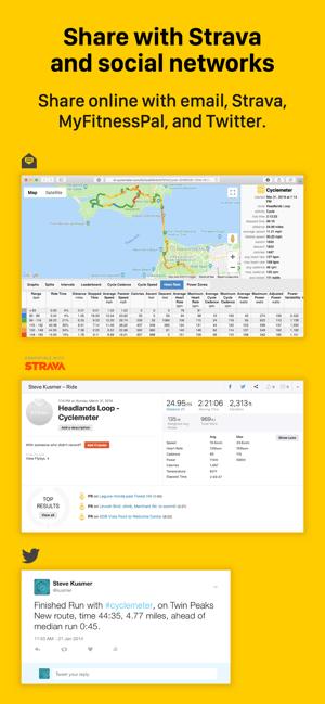 Cyclemeter - Cycling & Running Screenshot