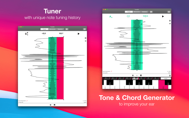 ‎Tunable - Music Practice Tools Screenshot