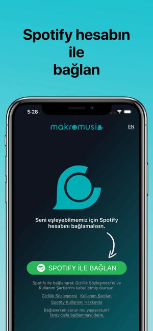 makromusic for Spotify Screenshot