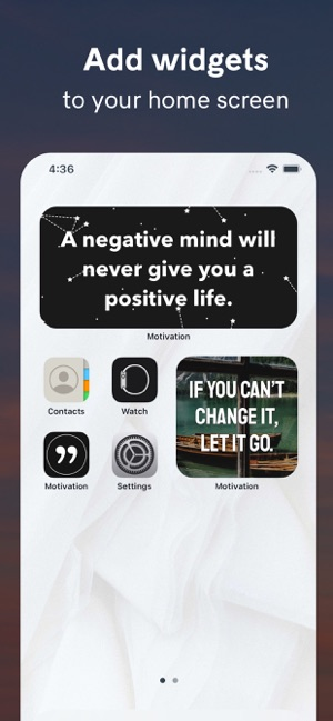 ‎Motivation - Daily quotes Screenshot