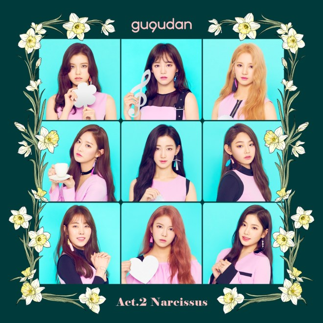 gugudan - Act.2 Narcissus - EP