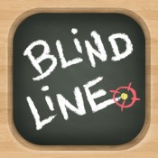 Blind Line - Chalkboard Path Drawing Game