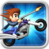 Top Gun Rider ( Free Racing and Shooting Car Kids Games )