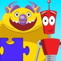 Monster Vs Robot Puzzle - Free Animated Kids Jigsaw Puzzles with Monsters and Robots - By Apps Kids Love, Inc!