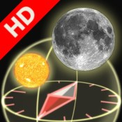 3D Sun&Moon Compass HD for iPad2 (Gyroscope enabled)