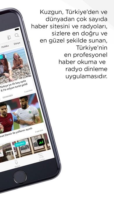 Kuzgun - Choose News Source Screenshot