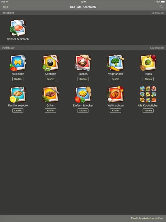 Das Foto-Kochbuch Screenshot