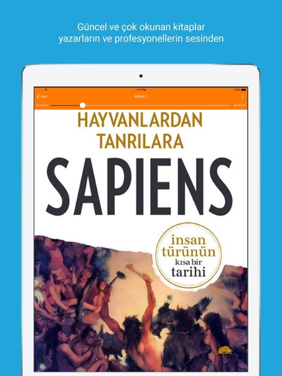 Seslenen Kitap Screenshot