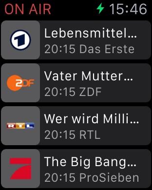 TV Programm ON AIR Screenshot