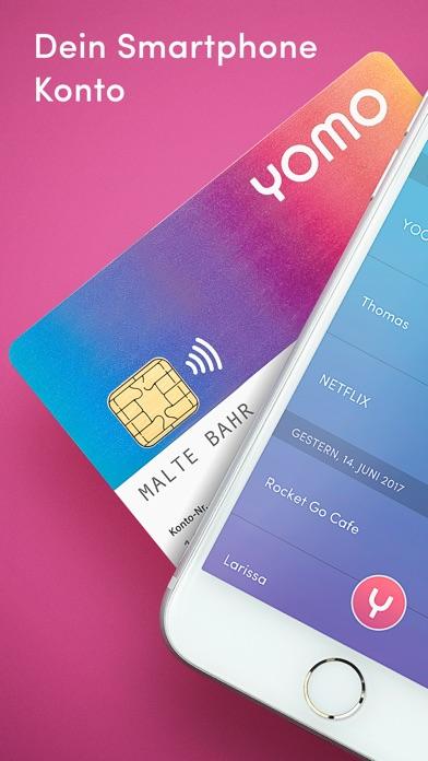 yomo – das Girokonto für dein Smartphone Screenshot