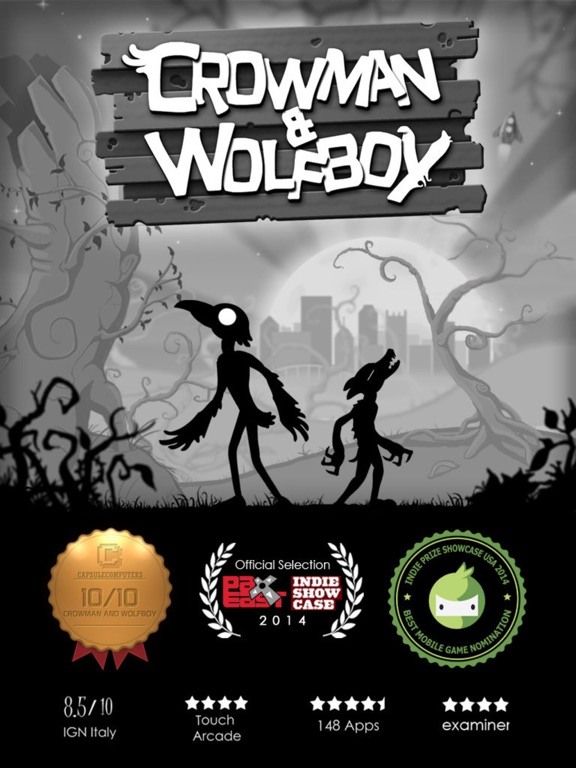 Crowman & Wolfboy Screenshot