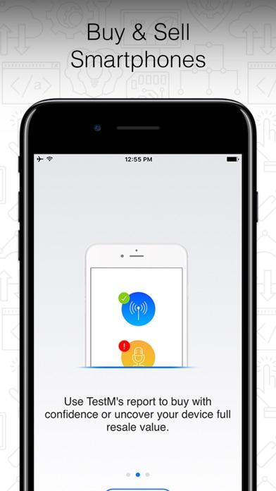 TestM - Phone Tester Tool Screenshot