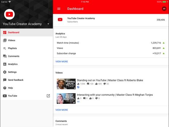 YouTube Studio Screenshot