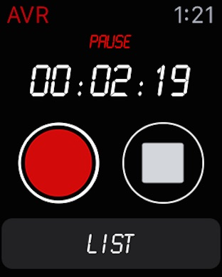 Awesome Voice Recorder PRO AVR Screenshot
