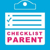 Checklist Parent - Mom and Dad Family Calendar Planner and To Do Check Lists