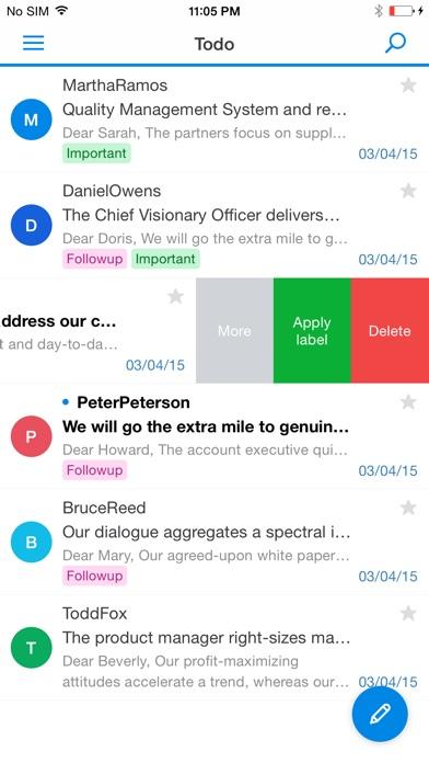 Synology MailPlus Screenshot