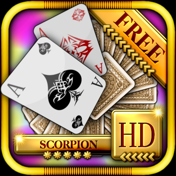 ACC Solitaire [ Scorpion ] HD Free - Classic Card Games for iPad & iPhone