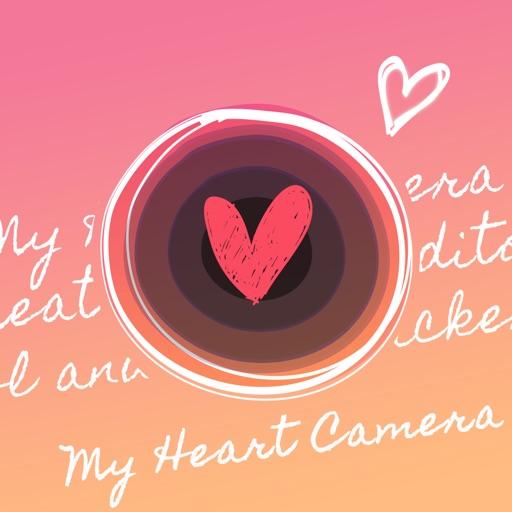My Heart Camera - 写真デコ・コラージュのハートカメラ